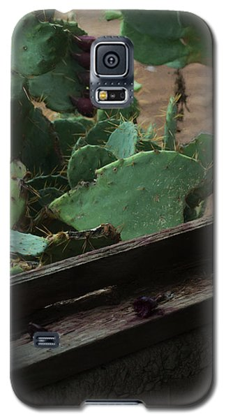 Galaxy S5 Case featuring the photograph West Texas View by Travis Burgess