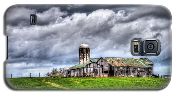 West Virginia Barn Galaxy S5 Case