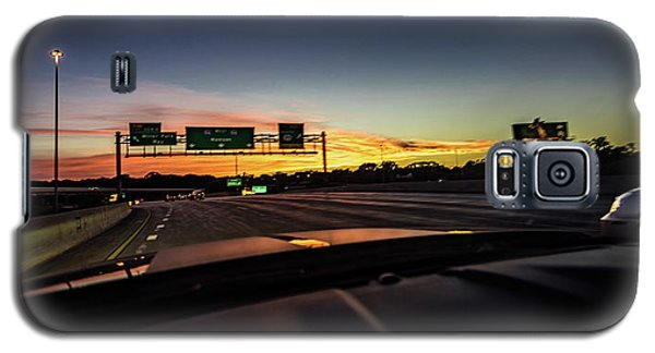 Galaxy S5 Case featuring the photograph Westbound by Randy Scherkenbach