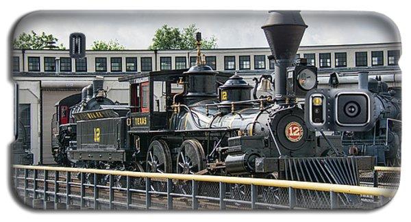Western And Atlantic 4-4-0 Steam Locomotive Galaxy S5 Case