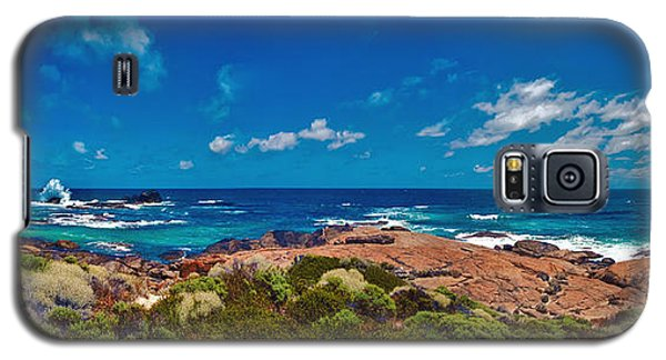 Galaxy S5 Case featuring the photograph Western Australia Beach Panorama by David Zanzinger