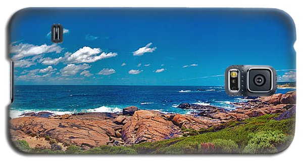 Galaxy S5 Case featuring the photograph Western Australia Beach Panorama Margaret River by David Zanzinger