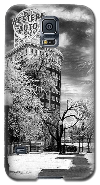 Western Auto In Winter Galaxy S5 Case