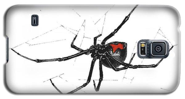 Western Black Widow - Color Galaxy S5 Case