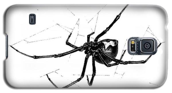 Western Black Widow Galaxy S5 Case