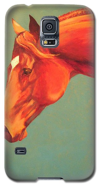 Galaxy S5 Case featuring the painting Western Champion by Pam Talley