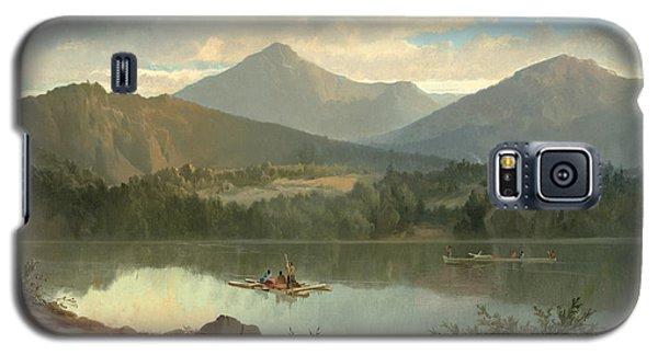 Mountain Galaxy S5 Case - Western Landscape by John Mix Stanley
