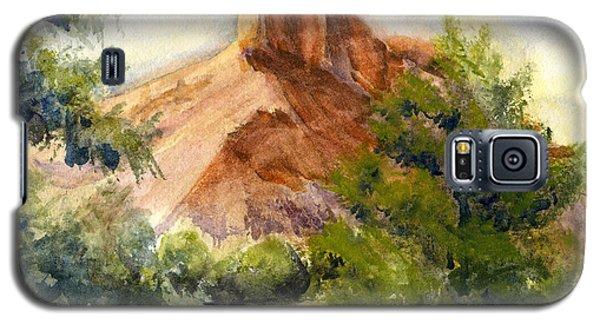 Western Landscape Watercolor Galaxy S5 Case