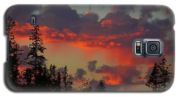 Western Sky Fire Galaxy S5 Case