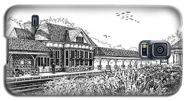 Western Springs Train Station Galaxy S5 Case