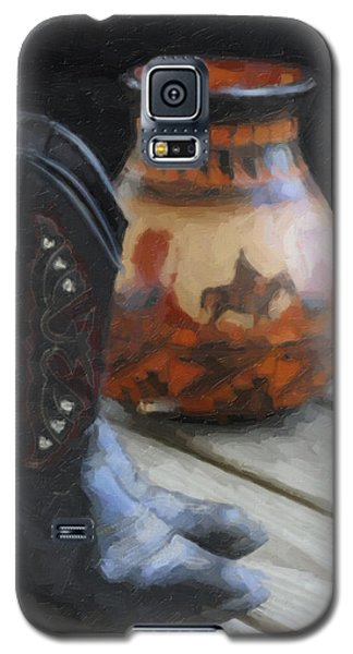 Galaxy S5 Case featuring the photograph Western Still Life by Kenny Francis