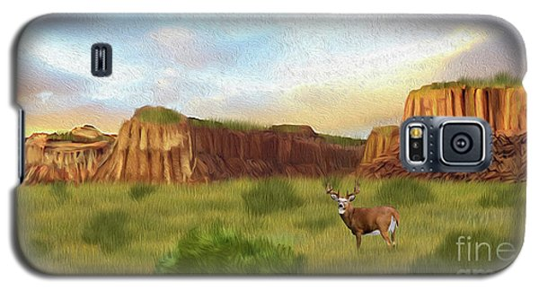 Western Whitetail Deer Galaxy S5 Case