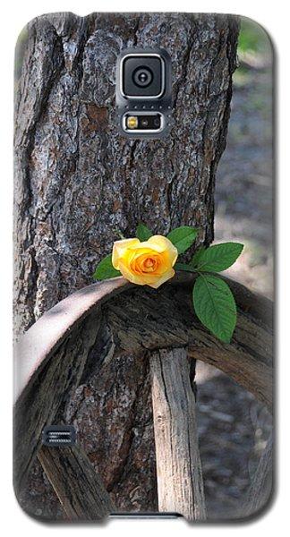 Western Yellow Rose Galaxy S5 Case