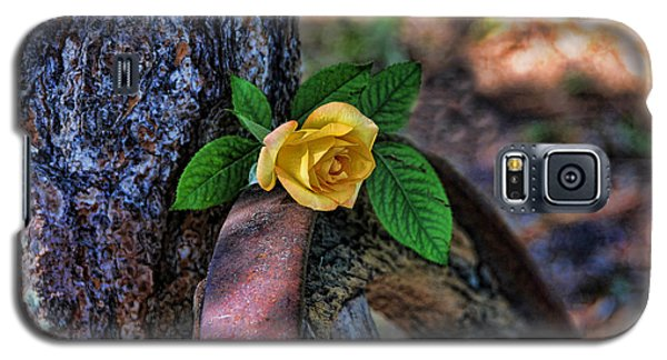 Western Yellow Rose Viii Galaxy S5 Case