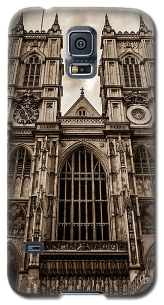 Westminister Abbey Sepia Galaxy S5 Case