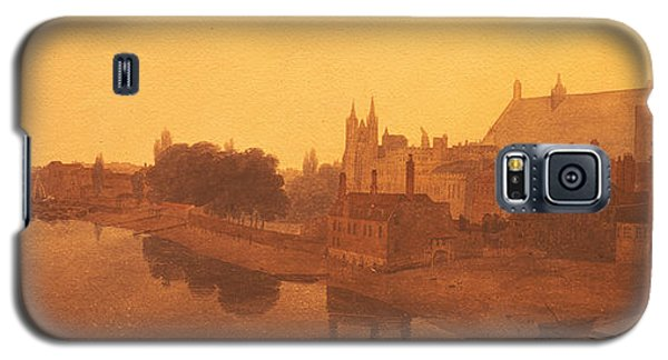 Westminster Abbey  Galaxy S5 Case by Peter de Wint