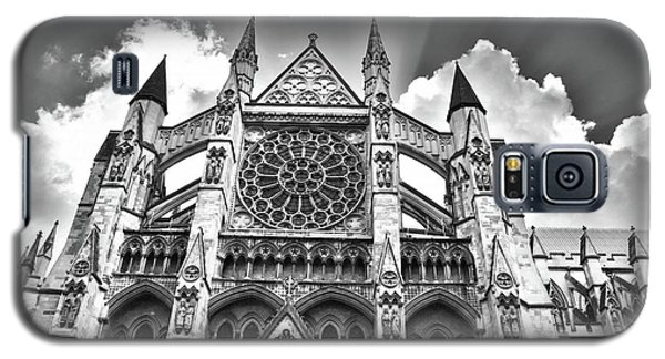 Westminster Abbey Under The Clouds And Rays Galaxy S5 Case