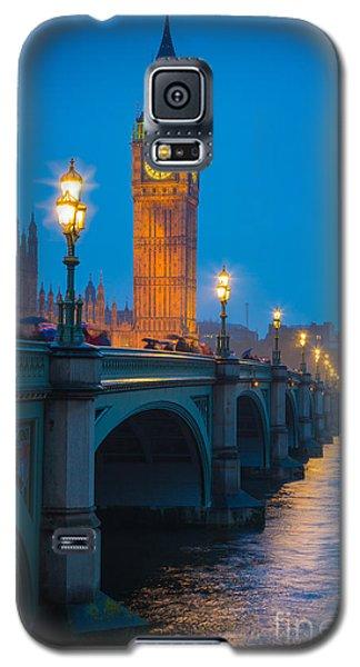 Westminster Bridge At Night Galaxy S5 Case