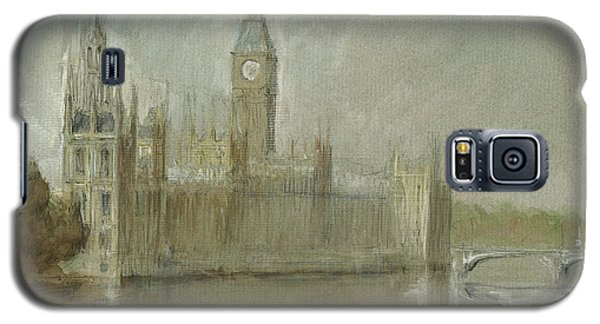 Westminster Palace And Big Ben London Galaxy S5 Case by Juan Bosco