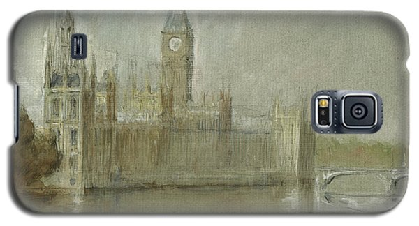 Westminster Palace And Big Ben London Galaxy S5 Case