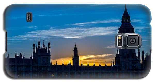 Westminster Parlament In London Golden Hour Galaxy S5 Case