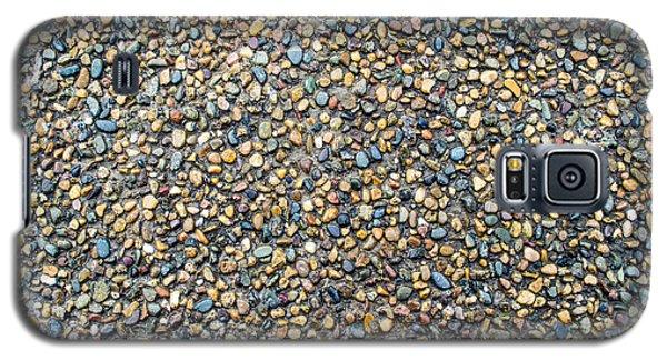 Wet Beach Stones Galaxy S5 Case