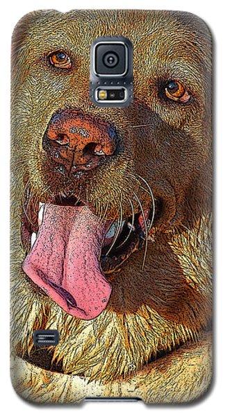 Wet Dog Galaxy S5 Case