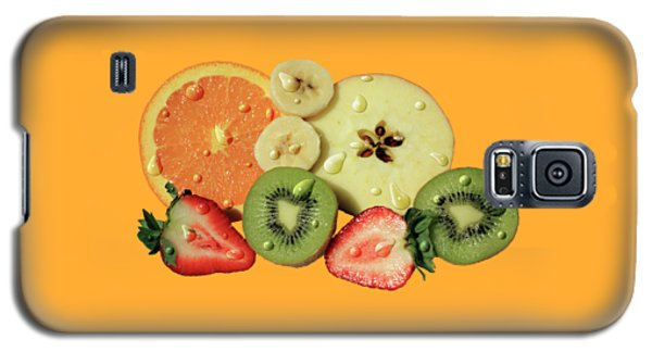 Galaxy S5 Case featuring the photograph Wet Fruit by Shane Bechler