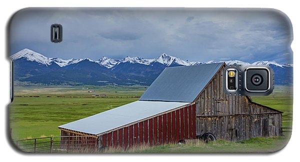 Sangre De Cristo Galaxy S5 Case - Wet Mountain Valley Barn by Bridget Calip