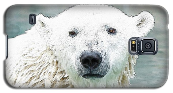 Wet Polar Bear Galaxy S5 Case