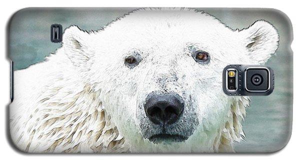 Wet Polar Bear Galaxy S5 Case