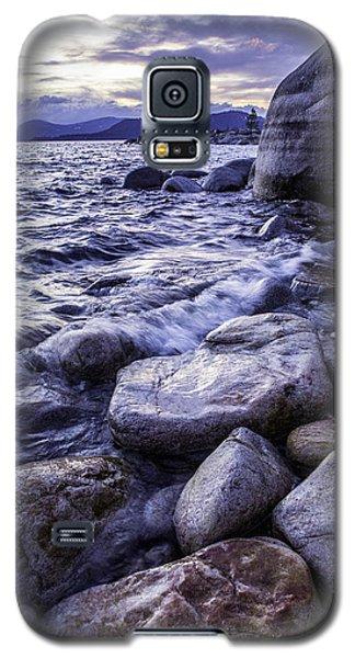 Wet Rocks At Sunset Galaxy S5 Case
