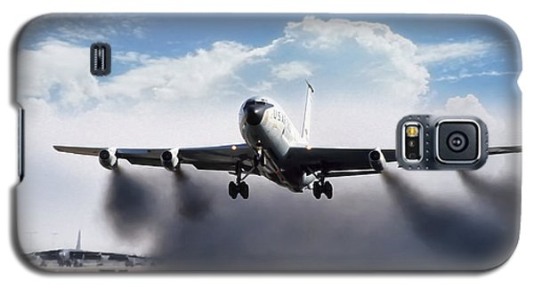 Airplane Galaxy S5 Case - Wet Takeoff Kc-135 by Peter Chilelli