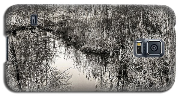 Galaxy S5 Case featuring the photograph Wetland Essence by Betsy Zimmerli