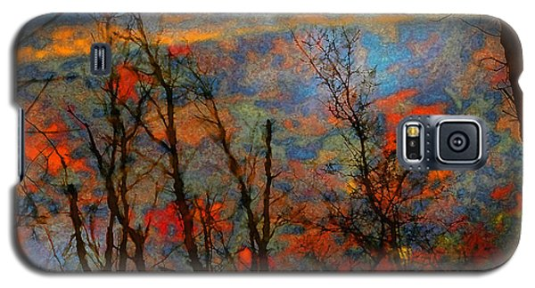 Wetland Reflections 49 Playful Galaxy S5 Case by Mary Bedy