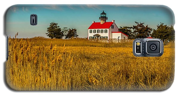 Galaxy S5 Case featuring the photograph Wetlands At East Point Light by Nick Zelinsky