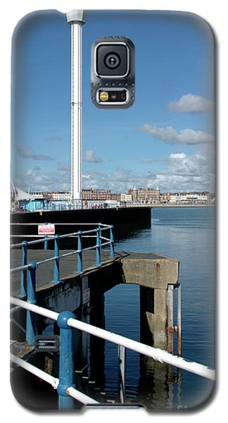 Weymouth Pavillion Pier And Tower Galaxy S5 Case by Baggieoldboy