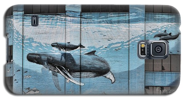 Whale Deco Building  Galaxy S5 Case