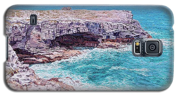 Whale Point Cliffs Galaxy S5 Case