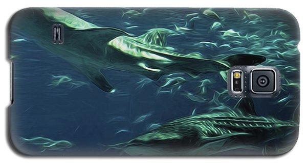 Whale Shark Couple Galaxy S5 Case