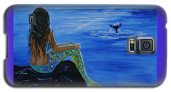 Whale Watcher Galaxy S5 Case by Leslie Allen