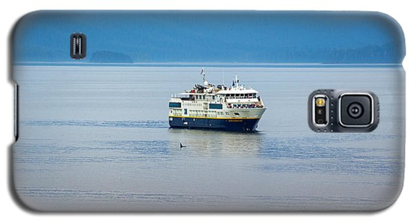Whale Watching In Glacier Bay Galaxy S5 Case