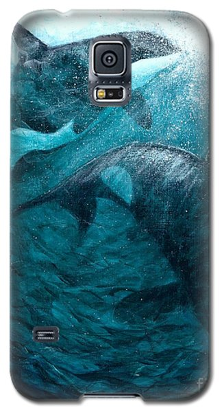 Whales  Ascending  Descending Galaxy S5 Case