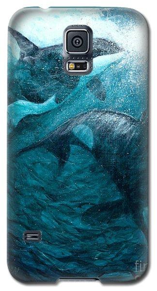 Whales  Ascending  Descending Galaxy S5 Case