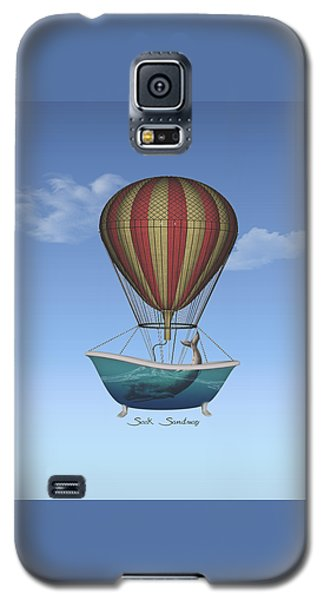 Galaxy S5 Case featuring the digital art Seek Sanctuary by Galen Valle