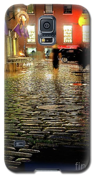 Galaxy S5 Case featuring the photograph Wharf Street, Portland, Maine  -17739-17741 by John Bald