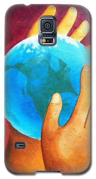What A Wonderful World ... Galaxy S5 Case