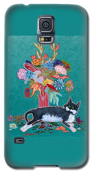 What Flowers Galaxy S5 Case