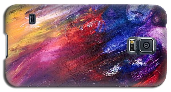 Galaxy S5 Case featuring the painting What Hides  by Marat Essex