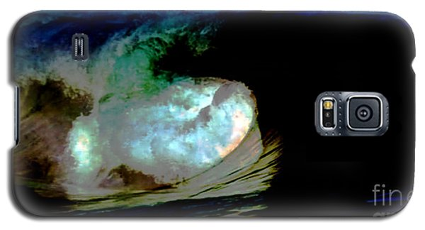 What Is It Fantasy Fusion Accidental Discovery Art  Psychedelic Galaxy S5 Case by Navin Joshi